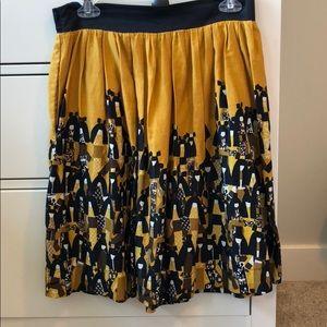 Anthropologie geisha skirt